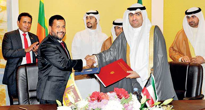 Sri Lanka – Kuwait talks stress bigger role for private sector