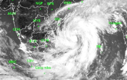 "Cyclonic Storm ""TITLI"" located 1000km away from Trincomalee – Department of Meteorology"