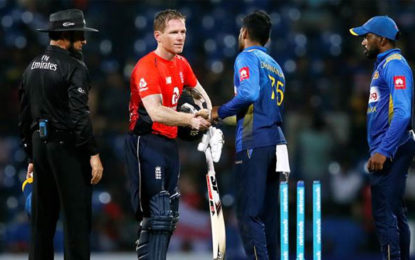 England beat Sri Lanka by seven wickets in third ODI