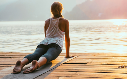 How To Turn Your Sun Salutation Into a Moving Meditation