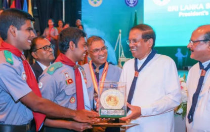 Scout Movement should move forward with new technology & knowledge – President