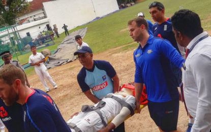 Sri Lankan cricketer Pathum Nissanka hospitalized