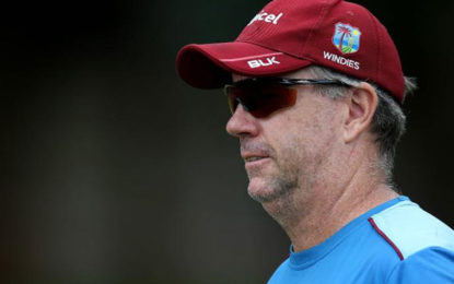West Indies coach Stuart Law suspended for two ODIs