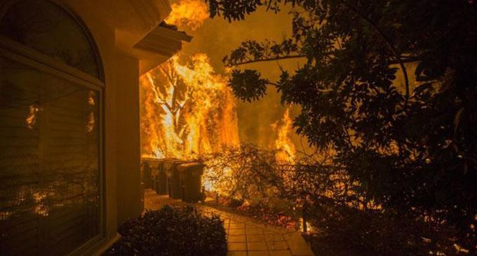 Nine killed as California wildfires spread