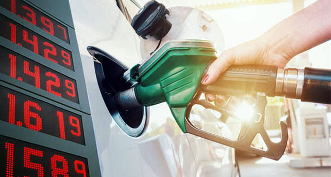 Fuel prices reduced from midnight today