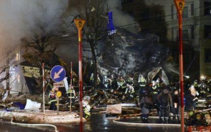 Scores injured in huge explosion in Japan