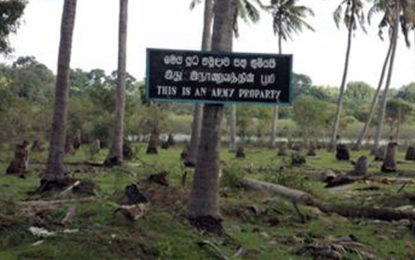 More Army-held lands in East to be released