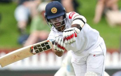 Kusal Mendis defiant as Sri Lanka dig in to avoid innings defeat against New Zealand