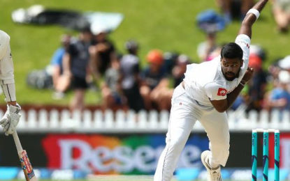 Lahiru Kumara fined for use of an audible obscenity
