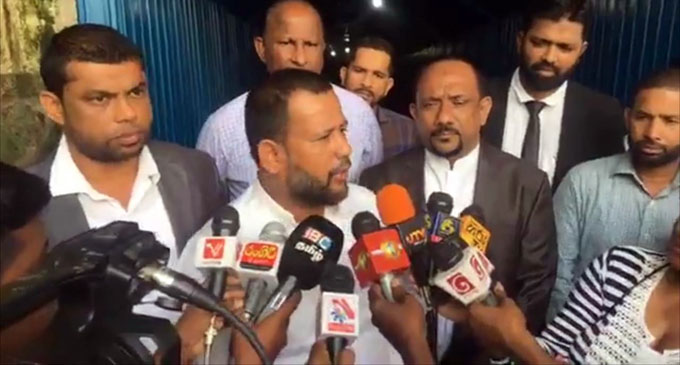 ACMC submits statements at CID on assassination plot against its Leader [VIDEO]