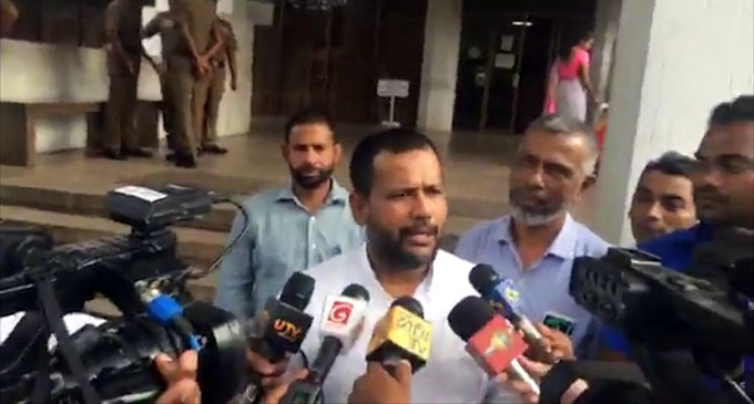 """We have faith in judiciary, rule of law,"" Rishad Bathiudeen says [VIDEO]"