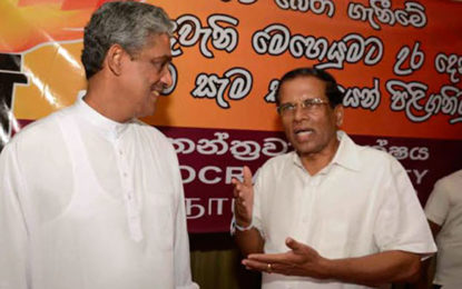 Fonseka to be appointed as Internal Affairs Minister?