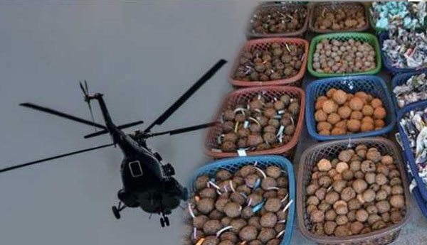 FAST NEWS SLAF Conducts First Ever Aerial Seed Bombing
