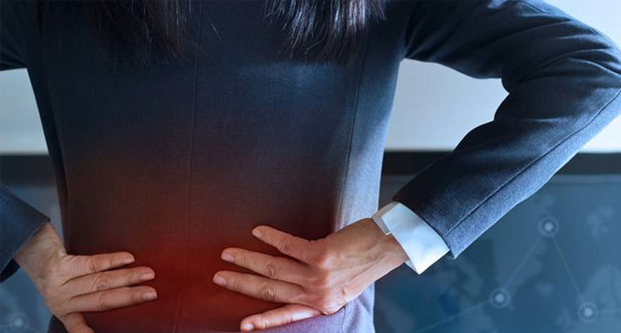 Persistent back pain associated with increased mortality