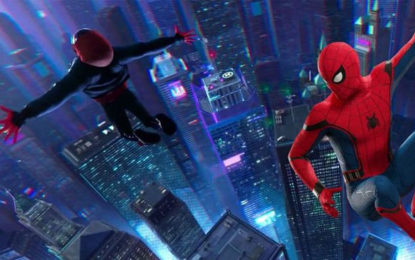 Spider-Man Into the Spider-Verse swings to the top at US box office