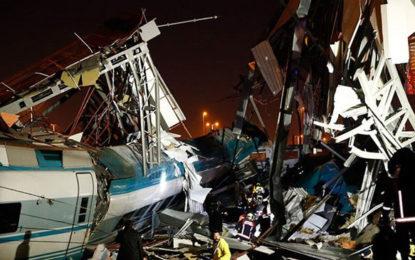 Several injured in high-speed train accident in Turkey