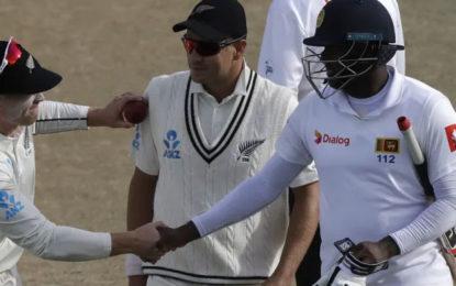 Mathews plays saviour again as Sri Lanka defy New Zealand
