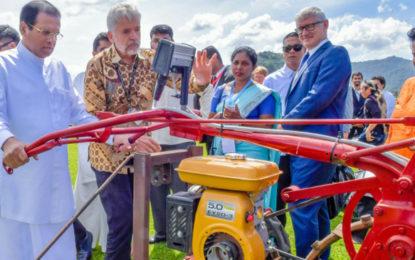 IRRI and Sri Lanka sign a 5-year action plan