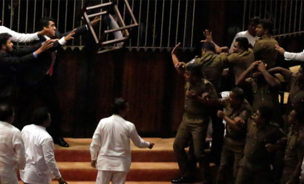 Report on Parliamentary unrest to Speaker today