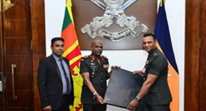 First Ballistic Rubber Sample in Sri Lanka Inducted