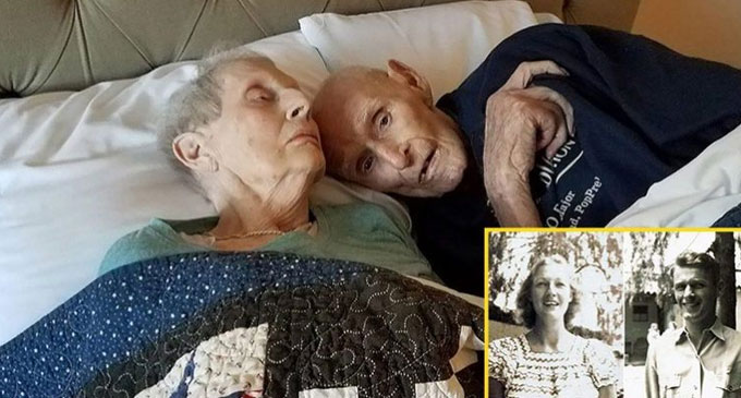 Couple Served in WWII Together, Married for Seven Decades, Die the Same Day After Taking Their Last Nap
