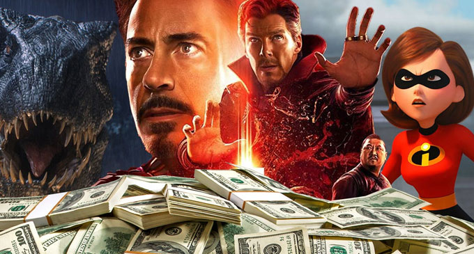 Highest-grossing Hollywood movies of 2018: Avengers Infinity War and Deadpool 2 in the list