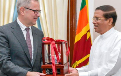 Maersk to increase container handling in Sri Lanka