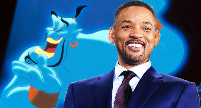 "Disney reveals Will Smith as Genie in ""Aladdin"" [VIDEO]"