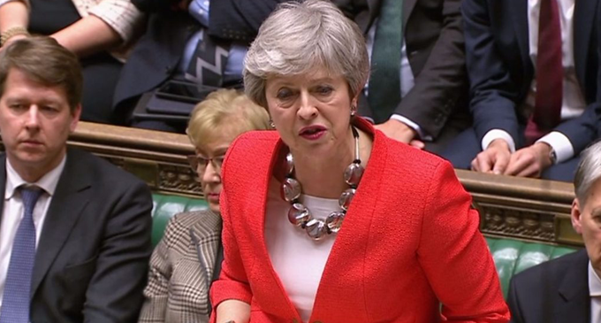 MPs reject Theresa May's deal for a second time