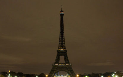 Eiffel Tower goes dark to honour Sri Lanka attack victims
