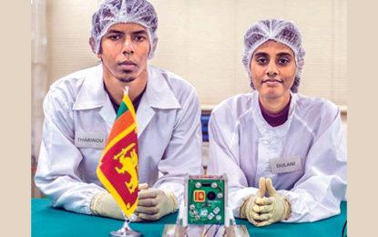 Sri Lanka's first satellite 'Raavana 1' launched [VIDEO]