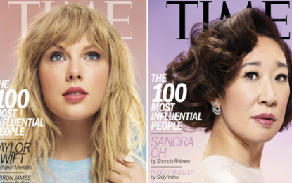 Sandra Oh, Taylor Swift among Time's 100 most influential people