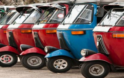 Three-wheeler fares to go up tonight