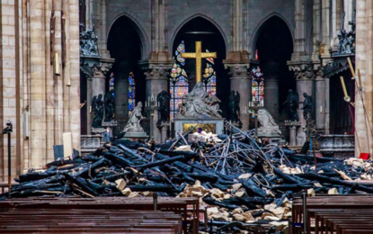 Macron says new Notre-Dame Cathedral will be more beautiful