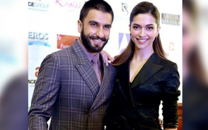 Deepika, Ranveer make perfect couple at wedding