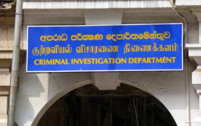 Seventy-seven linked to Easter attacks in CID's custody; 25 in TID