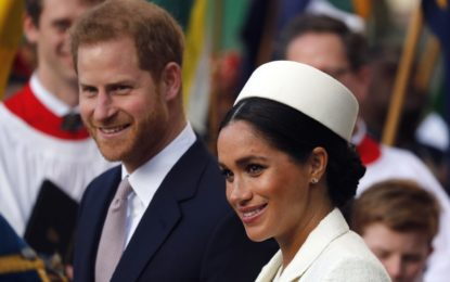 Meghan gives birth to boy
