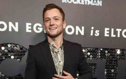 Taron Egerton shares about his transformation process for Rocketman