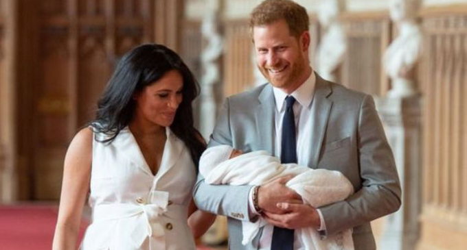 Harry and Meghan name son Archie