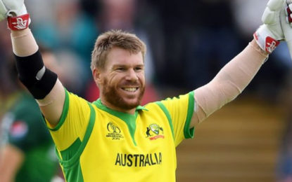 Warner's century leads Australia to victory over spirited Pakistan