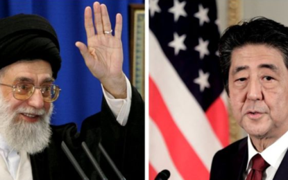 Japan's Shinzo Abe heads to Tehran amid US-Iran tensions