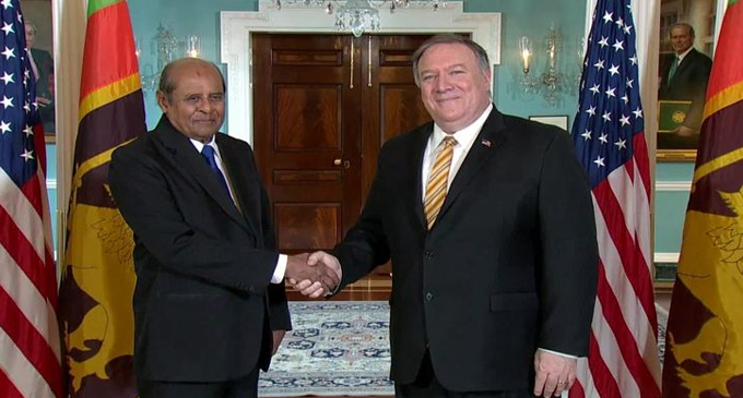 Pompeo's visit will consolidate Lankan security