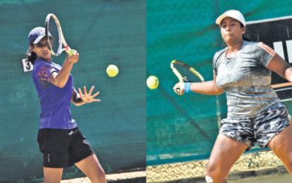 Anjalika takes on Tania in Under 18 final