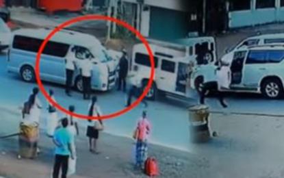 Two held over Kalagedihena assault
