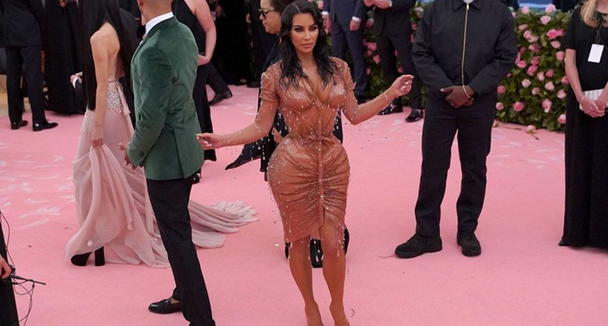 Kim Kardashian denies rumours of removing ribs to fit in Met Gala outfit