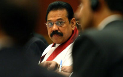 """""""Death penalty should not be implemented, only exist as punishment"""" – Mahinda"""