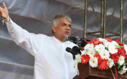 """""""Youth moving away from politics""""- says Premier Ranil"""