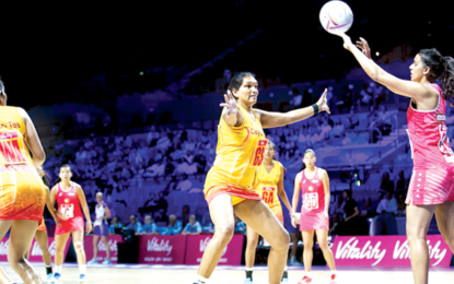 Sivalingam fires Sri Lanka to 15th in Netball World Cup
