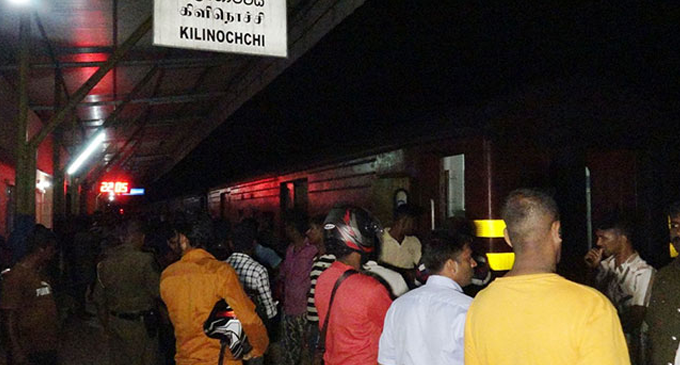 Two killed after being hit by train