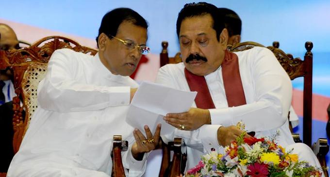 Special meeting between Maithripala & Mahinda?
